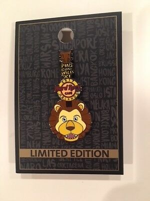 Hard Rock Cafe Pin 2017-Orlando, Florida-Pins Gone Wild Lion Limited Edition