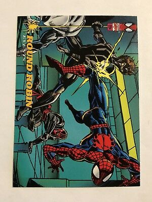 Spider-Man Fleer 1994 Marvel Card #134 Round Robin