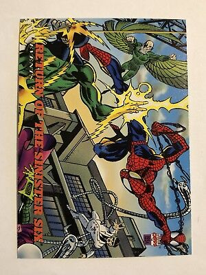 Spider-Man Fleer 1994 Marvel Card #135