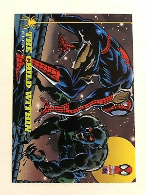 Spider-Man Fleer 1994 Marvel Card #139 The Child Within
