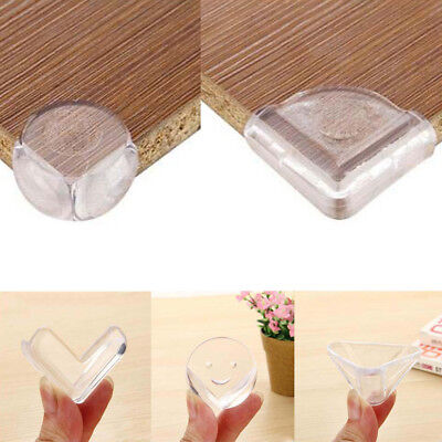 5/10X Soft Clear Table Desk Corner Protector Cushion Bed Edge Guard Baby Safety