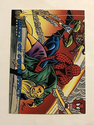 Spider-Man Fleer 1994 Marvel Card #141 The Death Of Gwen Stacy