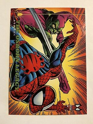 Spider-Man Fleer 1994 Marvel Card #144 The Osborn Legacy