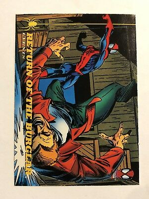 Spider-Man Fleer 1994 Marvel Card #147 Return Of The Burglar
