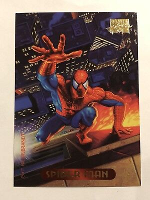Marvel Masterpieces Fleer Spider-Man Card #115 Spider-Man