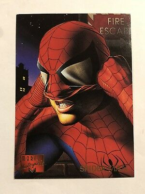 Marvel 1995 Fleer Spider-Man Card #92 Spider-Man