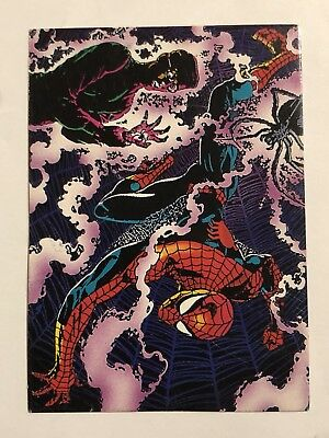 1992 Marvel Spider-Man 30th Anniversary Card #4 Human Spider