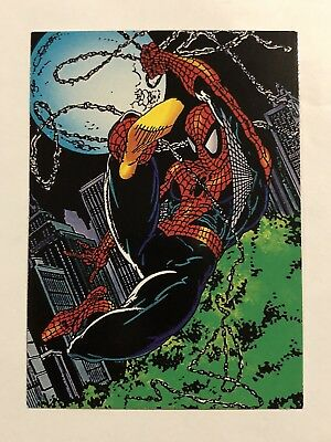 1992 Marvel Spider-Man 30th Anniversary Card #5 Reflexes