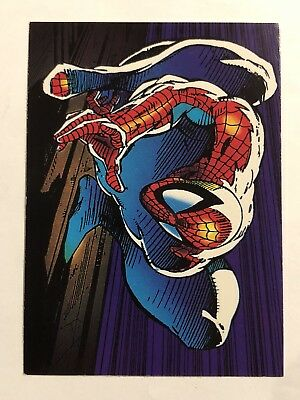 1992 Marvel Spider-Man 30th Anniversary Card #6 Wall Climber