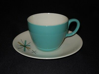 Mid Century Salem North Star China 1 Tea Cup and 1 Saucer