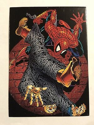1992 Marvel Spider-Man 30th Anniversary Card #9 Web Fluid