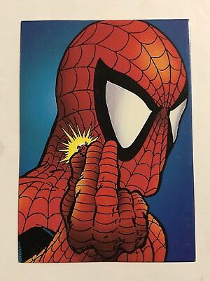 1992 Marvel Spider-Man 30th Anniversary Card #10 Equipment