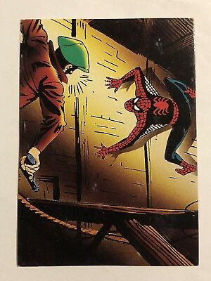 1992 Marvel Spider-Man 30th Anniversary Card #13 A Hero Is Born