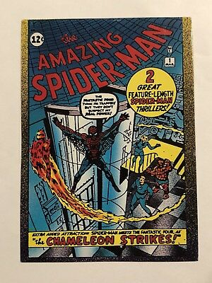 1992 Marvel Spider-Man 30th Anniversary Card #14 Amazing Spider-Man