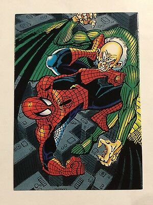 1992 Marvel Spider-Man 30th Anniversary Card #22 The Vulture