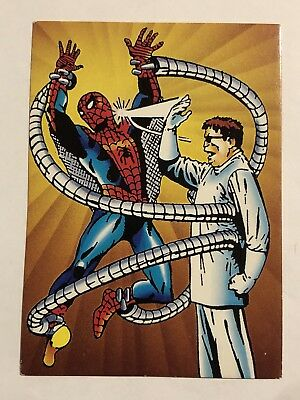 1992 Marvel Spider-Man 30th Anniversary Card #25 First Defeat