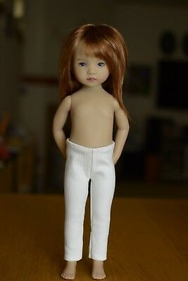 White Jeans for Little Darling Dolls - 13in - Dianna Effner