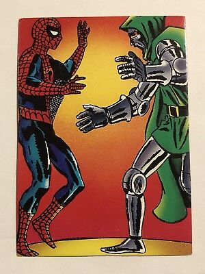 1992 Marvel Spider-Man 30th Anniversary Card #27 Doctor Doom