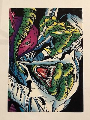 1992 Marvel Spider-Man 30th Anniversary Card #28 The Lizard