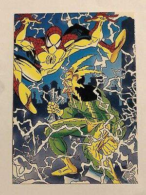 1992 Marvel Spider-Man 30th Anniversary Card #30 Electro