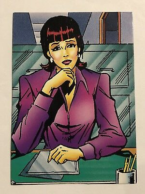 1992 Marvel Spider-Man 30th Anniversary Card #31 Betty Brant