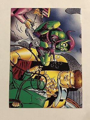 1992 Marvel Spider-Man 30th Anniversary Card #32 The Enforcer