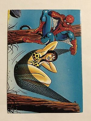 1992 Marvel Spider-Man 30th Anniversary Card #36 Big Shoes