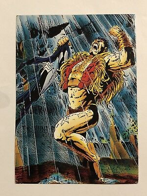 1992 Marvel Spider-Man 30th Anniversary Card #38 Kraven