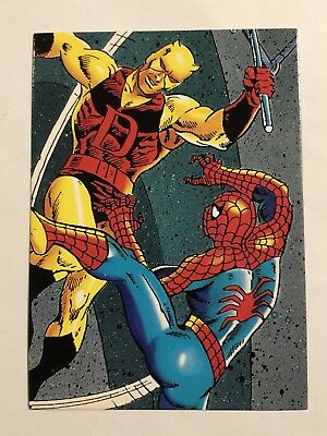 1992 Marvel Spider-Man 30th Anniversary Card #40 Daredevil