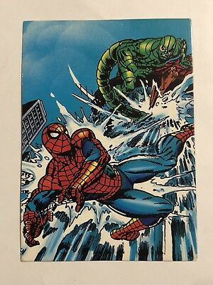 1992 Marvel Spider-Man 30th Anniversary Card #42 The Scorpion