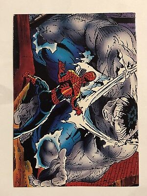 1992 Marvel Spider-Man 30th Anniversary Card #46 The Test