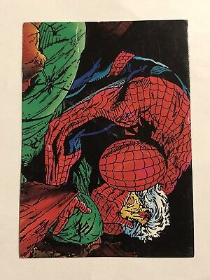 1992 Marvel Spider-Man 30th Anniversary Card #49 Captain Stacy