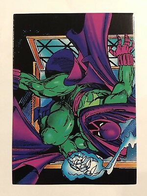 1992 Marvel Spider-Man 30th Anniversary Card #50 The Prowler