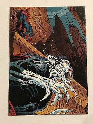 1992 Marvel Spider-Man 30th Anniversary Card #52 Morbius