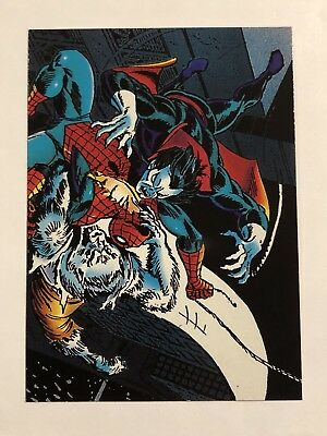 1992 Marvel Spider-Man 30th Anniversary Card #53 Man-Wolf