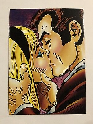 1992 Marvel Spider-Man 30th Anniversary Card #54 Gwen Stacy