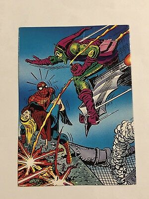 1992 Marvel Spider-Man 30th Anniversary Card #55 Gwen's Death