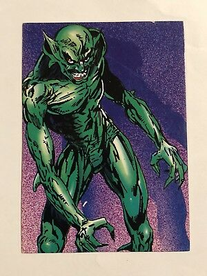 1992 Marvel Spider-Man 30th Anniversary Card #57 The Jackal