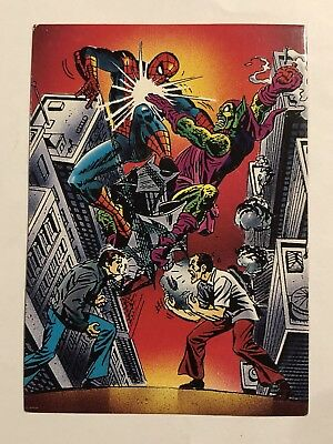 1992 Marvel Spider-Man 30th Anniversary Card #60 Seeing Green