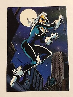 1992 Marvel Spider-Man 30th Anniversary Card #61 Black Cat