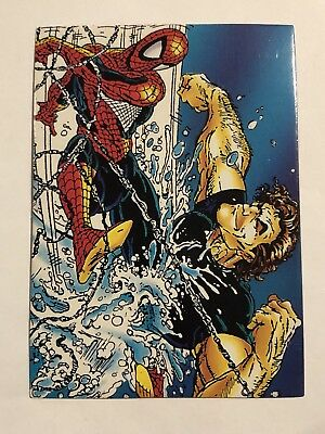 1992 Marvel Spider-Man 30th Anniversary Card #63 Hydro-man