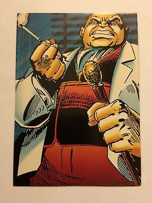 1992 Marvel Spider-Man 30th Anniversary Card #65 Kingpin