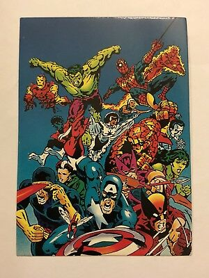 1992 Marvel Spider-Man 30th Anniversary Card #66 Secret Wars