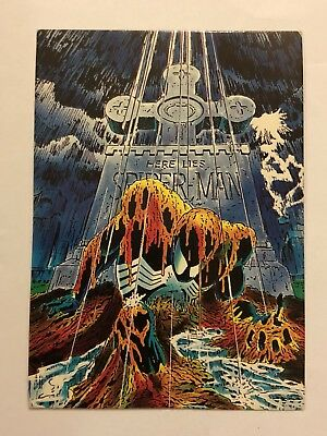 1992 Marvel Spider-Man 30th Anniversary Card #75 Buried Alive