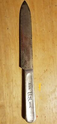 Rock Island Arsenal 1904 dated U.S. Military mess kit knife