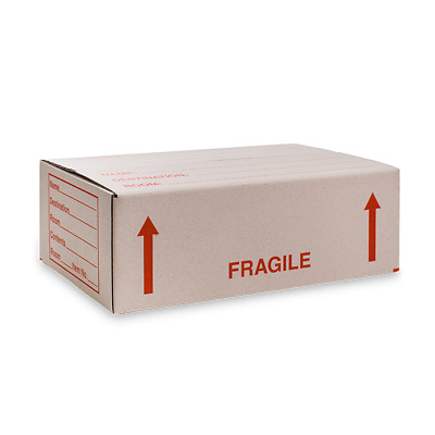 12 Bottle Wine Fragile Storage Box (Lay Flat)