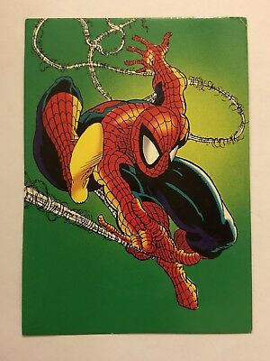 1992 Marvel Spider-Man 30th Anniversary Card #79 Issue #300