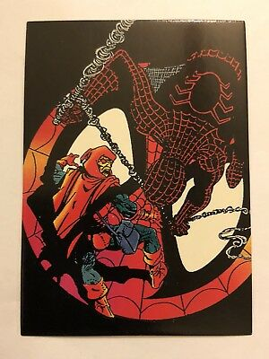 1992 Marvel Spider-Man 30th Anniversary Card #81 Arrogance