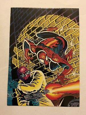 1992 Marvel Spider-Man 30th Anniversary Card #85 New Rose