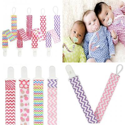 4PCS Pacifier Clip Teething Soother Holder Universal for Boys and Girls